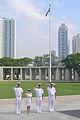 140310-N-ZZ999-101 USS Cowpens leaders at Manila American Cemetery.jpg