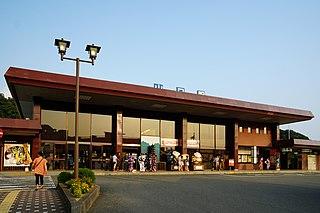 Yamaguchi Station (Yamaguchi) Railway station in Yamaguchi, Yamaguchi Prefecture, Japan