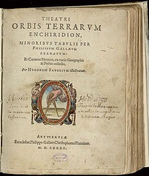 Philip Galle - Image: 1585 Theatri Orbis Plantinus Page 0003 Titel