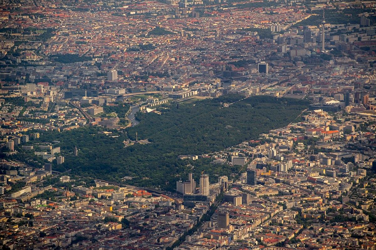 Foto aérea Tiergarten
