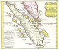 1852 Bellin Map of Sumatra, Malaca, and Singapore - Geographicus - Sumatra-bellin-1750.jpg