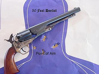 Colt Army Model 1860 - Image: 1860Army 50ftduelist