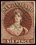 1864ca 6d red-brown New Zealand used 1 Mi26 SG99.jpg