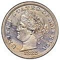 1882 5C Liberty Head Five Cents (Judd-1684) (obv).jpg