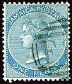1884 1d Jamaica F SG17.jpg