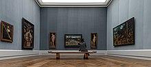 Gemäldegalerie Berlin, Saal deutsche Malerei, Cranach (Quelle: Wikimedia)