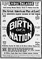 1916 - Lyric Theater Birth Of A Nation Ad Allentown PA.jpg