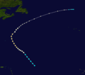 1927 Atlantic hurricane 4 track.png