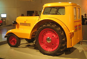1938 Minneapolis Moline tractor, owned by a Sa...