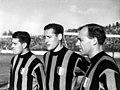 1951–52 AC Milan - Gunnar Nordahl, Nils Liedholm and Gunnar Gren.jpg