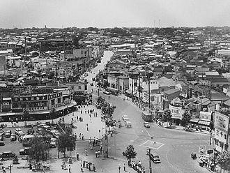 Shibuya - Shibuya in 1952