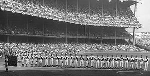 1955 World Series - Image: 1955 World Series game one