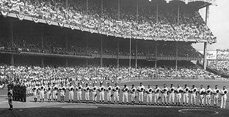 1955 World Series - Image: 1955 World Series game one