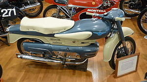 Aermacchi - A 1957 Aermacchi Chimera motorcycle at the Solvang Vintage Motorcycle Museum