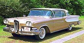 edsel wikipedia1958 Ford Edsel Ranger On 1958 Edsel Citation Wiring Diagram For Ford #21