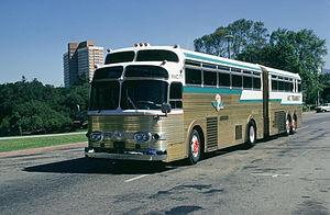 Eagle Bus - 1958 Kässbohrer-Setra Super Golden Eagle, an articulated design