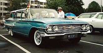 Chevrolet Nomad - Image: 1960 Chevrolet Nomad
