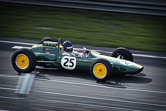 Lotus 25 - Image: 1964 Lotus Climax 25
