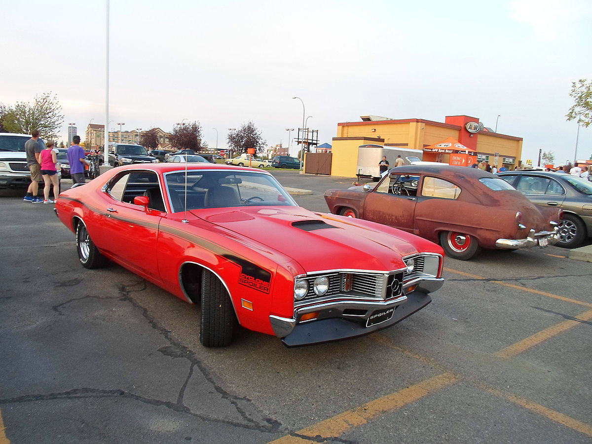 1968 Ford Mustang >> Mercury Cyclone - Wikipedia