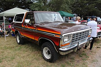 Ford Bronco - 1979 Ford Bronco with Free-Wheelin'  package