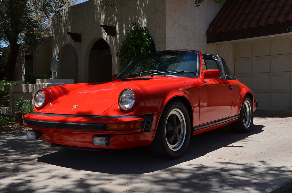 File 1982 Porsche 911 Sc Targa Red Jpg Wikimedia Commons