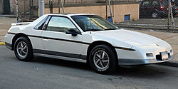 Pontiac Fiero Notchback GT (1985)
