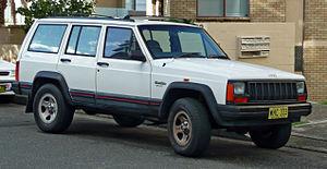 Jeep Cherokee (XJ) - 1994–1997 Jeep Cherokee (XJ) Sport (Australia)