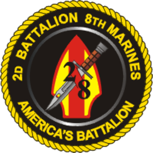 2nd Battalion, 8th Marines - 2nd Battalion, 8th Marines insignia