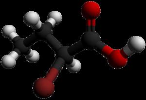 2-Bromobutyric acid - Image: 2 Bromobutyric acid 3D balls by AHRLS 2012