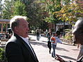 2003-10-03 Gary Birdsong arguing with a student.jpg