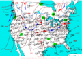 2004-04-07 Surface Weather Map NOAA.png