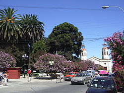 "Northeast of ""Plaza de San Vicente"" in 2005"