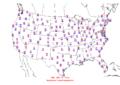2006-04-11 Max-min Temperature Map NOAA.png