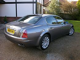 2006 Maserati Quattroporte - Flickr - The Car Spy (1).jpg