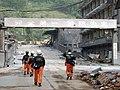 2008년 중앙119구조단 중국 쓰촨성 대지진 국제 출동(四川省 大地震, 사천성 대지진) SV400564.JPG