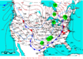 2009-03-11 Surface Weather Map NOAA.png