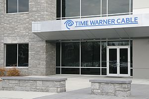 Time Warner Cable - Time Warner Cable building entrance in Morrisville, North Carolina