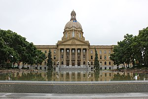 English: Alberta Legislature Building