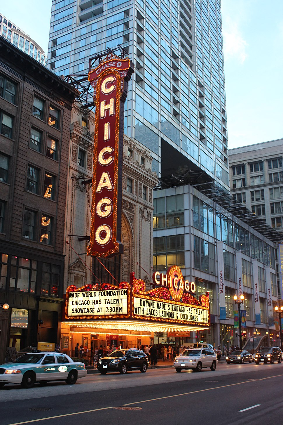 20120825 Dwyane Wade's talent search at Chicago Theatre