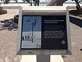 2014-07-05 12 53 32 Sign describing the first transcontinental telegraph line at the Bonneville Salt Flats Rest Area on Interstate 80 near the Bonneville Salt Flats, Utah.JPG