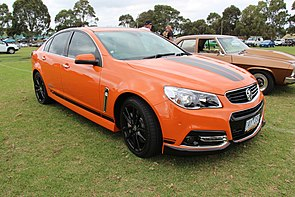 2014 Holden Commodore (VF MY14) SS V Redline sedan (14102471829).jpg