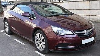 Opel Cascada - Image: 2014 Vauxhall Cascada SE CD Ti 2.0