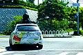 2015-05-20 Google Street View camera cars in Kobe,Hyogo,Japan、神戸市立藤原台小学校前のグーグルストリートビューカー DSCF1886.jpg