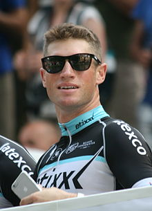 2015 Tour de France team presentation, Mark Renshaw.jpg