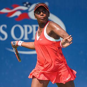 Tornado Alicia Black - Black at the 2015 US Open