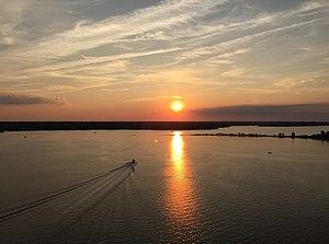 California, Maryland - Patuxent River from the Governor Thomas Johnson Bridge