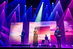 Keøma beim ESC-Vorentscheid Unser Lied für Stockholm im Jahr 2016