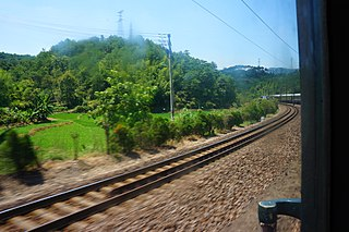 Zhangping–Longchuan railway