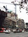 2017 Santiago de Chile - Construcción del Centro Gabriela Mistral (GAM) - Avenida Libertador Bernardo O'Higgins 227.jpg