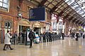 2017 at Bristol Temple Meads - ticket barriers renewed.JPG